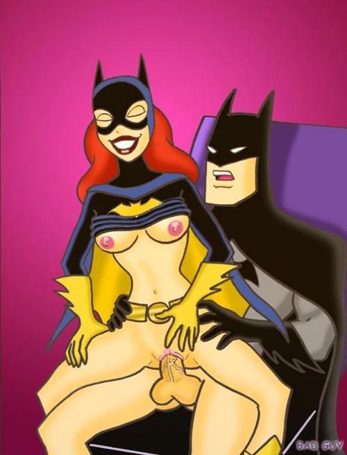 robin and batgirl xxx