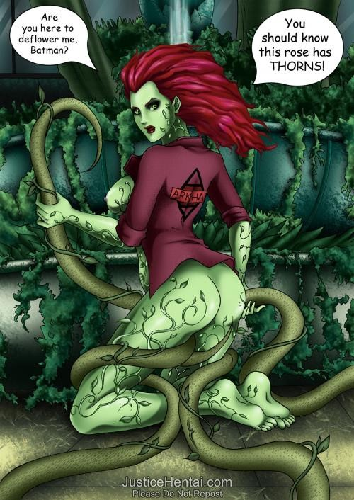 Solid hard batman poison ivy porn comic real tits